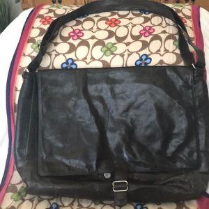 Distressed Brown Laptop bag
